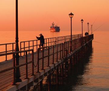 Limassol, Cyprus Pier