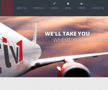 Tiv1 Website design and development